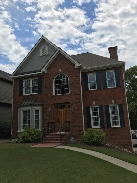 Exterior Painting Project With Sherwin Williams Resilience Paints Brookhaven