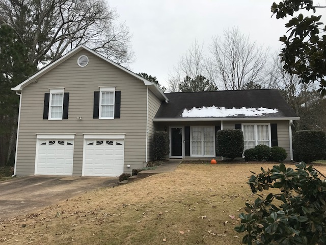 Exterior Painting And Gutter Gutter Guard Project In Marietta Ga 30066