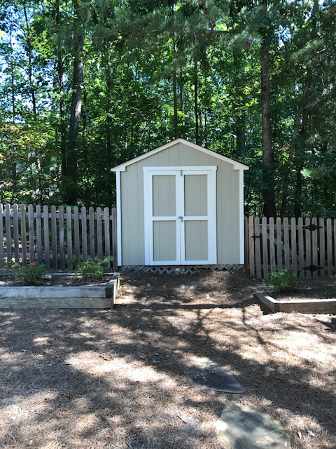 prep and painting of a shed marietta ga 30062