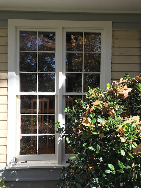 After And Before Photos New Alside Mezzo Double Hung Window Project Marietta Ga 30068