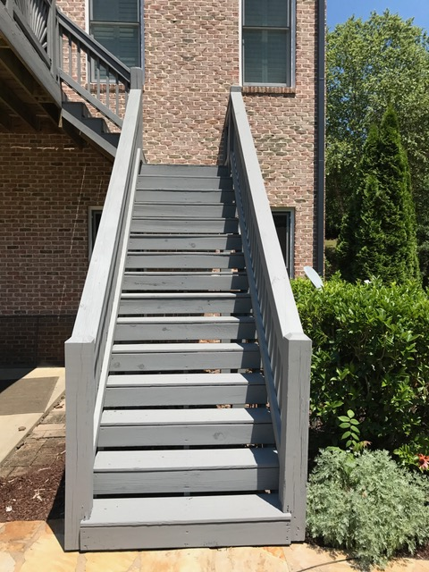 Deck Repair Restoration And Staining Project Milton Ga 30004